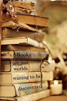 Open a book, Open new worlds