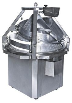 Conical rounder for bread processing lines.
