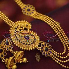 Image result for gold chain mugappu designs