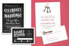 Convites de Casamento | Modelos para baixar