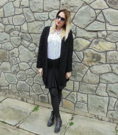 OOTD: Black and fluffy
