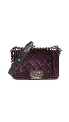 0b9db9483140 Chanel Velvet Boy Mini Bag (Previously Owned). SHOPBOP. Mini BagDust BagSoft  LeatherShoulder Strap. What Goes Around Comes ...