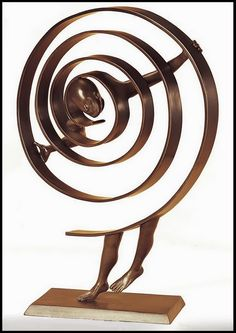 Jean Louis Corby - escultura, bronce