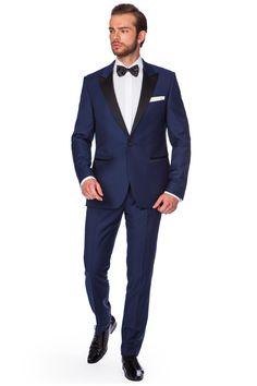 Smoking Lincoln Navy - Ślub 2016 | Lancerto sklep internetowy