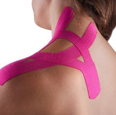 Sport Injury and Pain Relief Athletic Fitness Kinesiology Extension Physiotherapy Tape Red