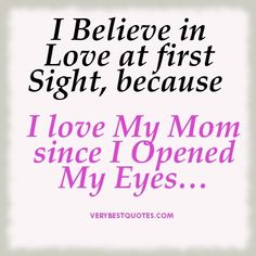 Birthday Quotes For Mom Custom I Love My Mom  Kandi Wall Wall Williams You Made Me Cry Haylee
