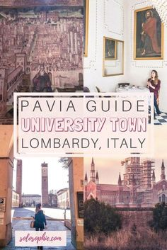 Pavia Guide: Best things to do in Pavia, a beautiful university town in the Lombardy region of Italy! Medieval old town, Renaissance monastery and plenty of history!