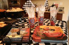"Photo 1 of 35: Disney Cars / Birthday ""Kaden's 5th Birthday - Disney Cars""   Catch My Party"
