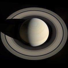 In October 2013, Cassini flew high above Saturn, looking down toward its north pole. It took a series of shots that were then assembled into this amazing mosaic by software engineer Gordan Ugarkovic.