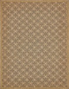 Kannapolis Terracotta And Sand Rectangular Indoor Outdoor Machine Made Area Rug Common 8 X 10 Actual 94 In W 120 L 30152610 8x10