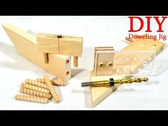 Self–Centering Doweling Jig in 1 hour - YouTube