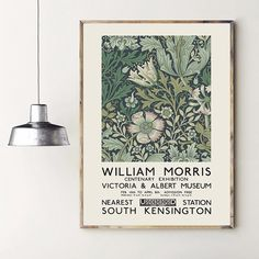 Cheap Painting & Calligraphy, Buy Quality Home & Garden Directly from China Suppliers:William Morris Canvas Print The Victoria and Albert Museum Exhibition Poster London Underground Art Nouveau Painting Wall Decor Enjoy ✓Free Shipping Worldwide! ✓Limited Time Sale✓Easy Return.