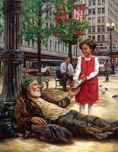 Nathan Greene The Good Shepherd Studio Canvas Giclée Inspirational Art