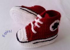 Newborn converse, zapatillas de deporte bebé recién nacido estilo converse de Lilyshopblue en Etsy