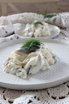 Polish Recipes, Seafood Dishes, Camembert Cheese, Salads, Food And Drink, Appetizers, Menu, Fish, Vegetables