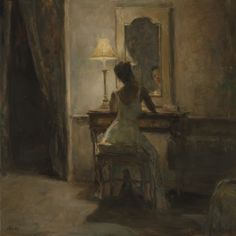 """I see things very abstractly, so I think of myself as a painter who sees shape, value, edges and texture. I like to romanticize life. I love the interaction of people doing...'things' -- whatever it is. It could be the most mundane thing to any passer-by, but I find great beauty in that"" - Ron Hicks"
