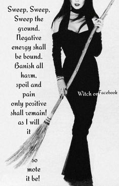 Sweeping Negativity away