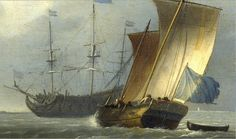 Ludolf Backhuysen (1630-1708) detail | Flickr - Photo Sharing!