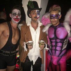 Pin for Later: Throwback Thursday Édition Spéciale Célébrités en Costumes d'Halloween Michael Turchin, Lance Basslooked, et Frankie Grande