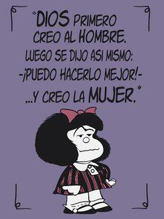 Mafalda frases feminista. Camiseta regalo ideal.