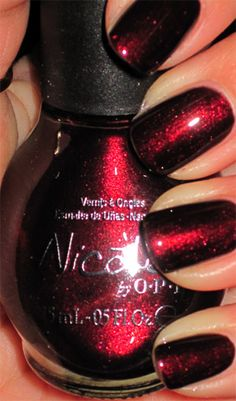Nicole by OPI Kiss Me At Midnight