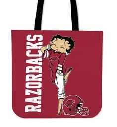 BB Arkansas Razorbacks Tote Bag For Woman – Best Funny Store