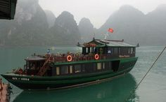 White Dolphin boat tour in Halong bay, Vietnam