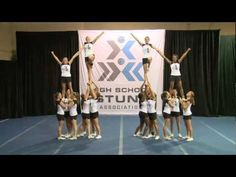 2014 Oklahoma 16-person version - High School STUNT