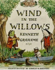 Wind in the Willows book - This is a perfect book.  I love it.