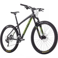 Santa Cruz Chameleon D Mountain Bike – 2015 Black/Lime