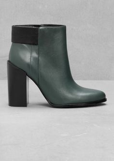 & Other Stories | Inspiration Leather ankle boots