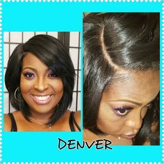 Model Model Denver wig show and tell. Contour that part!!!!