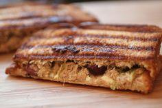 mediterrean recipes with photos   Mediterranean Tuna Panini Recipe