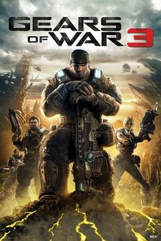 Gears of War 3 Video Game Posters