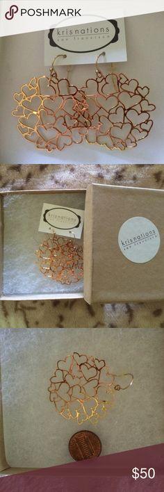 Spotted while shopping on Poshmark: EUC earrings! #poshmark #fashion #shopping #style #kris nations #Jewelry