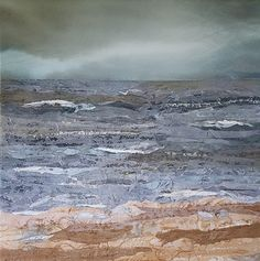 Storm over the Sea - Judith Reece