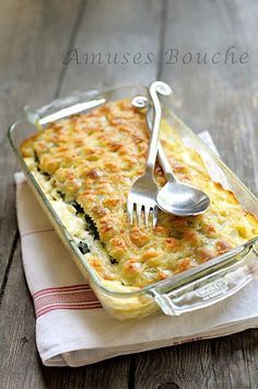Lasagnes de ravioles du Dauphiné this is the origial french recipe, you'll have to translate it but it is quiet simple French Dishes, French Food, Pasta Recipes, Cooking Recipes, Cooking Tips, My Favorite Food, Favorite Recipes, Cuisine Diverse, Cooking Photos