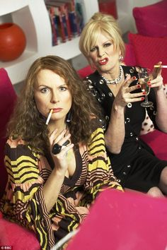 Jennifer Saunders and Joanna Lumley: absolutely fabulous! Jennifer Saunders and Joanna Lumley: absolutely fabulous! Jennifer Saunders, Joanna Lumley, Patsy And Eddie, Ella Enchanted, Gordon Brown, Ab Fab, British Comedy, New Series, Carnival