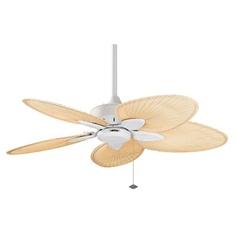 """Fanimation 44"""" Windpointe 5 Blade Outdoor Ceiling Fan - FP7500MW $269.00"""