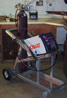 Welding cart More