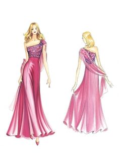 Our Patterns :: Sewing pattern 3227 - Marfy Prom 2014