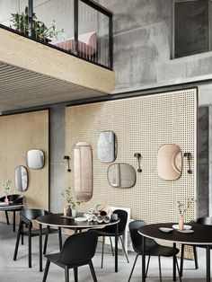 Welcome Muuto! We are delighted to be able to welcome a new partner brand: chairs, sofas, luminaires and much more from Muuto will be ava Restaurant Interior Design, Commercial Interior Design, Commercial Interiors, Modern Interior Design, Interior Architecture, Luxury Restaurant, Restaurant Lighting, Luxury Interior, Design Café