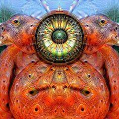 Deep Dream Fire Minion by KLMjr. #deepdream #fire #minion #digitalart #digitalmanipulation #trippy #cartoonish #psyclops by kendrofious_morificus