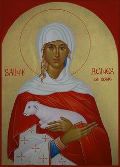 St. Agnes of Rome by Mihai Cucu