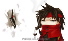 Twilight VS Vincent Valentine by ShiroiNeko-sama.deviantart.com on @deviantART