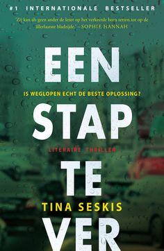 #boekperweek 39/52 Een stap te ver - Tina Seskis Is weglopen echt de beste oplossing? Wat is er zo erg dat je ervoor wegloopt. Door de tijd- en perspectiefwisselingen is het soms verwarrend. Dit haalt de spanning en snelheid een beetje uit het verhaal. Maar toch blijft die trigger dat je wilt weten wat er is gebeurd.