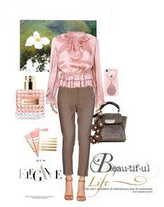 """#spring fashion"" by nina11-2 ❤ liked on Polyvore featuring Pinko, ZAC Zac Posen, NOVICA, Ulla Johnson, Casetify, WALL, Valentino and StudioSarah"