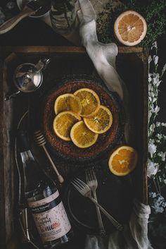 Spiced Grapefruit Sponge Cake with Candied Orange Slices || TermiNatetor Kitchen…