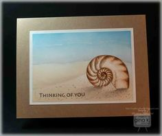 Hello! It's our third day of inspiration for the Gina K Designs May release. Today we have two more stamp sets to feature, By The Sea 2 ,...