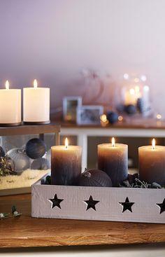 Kerzen wärmen Herz und Seele